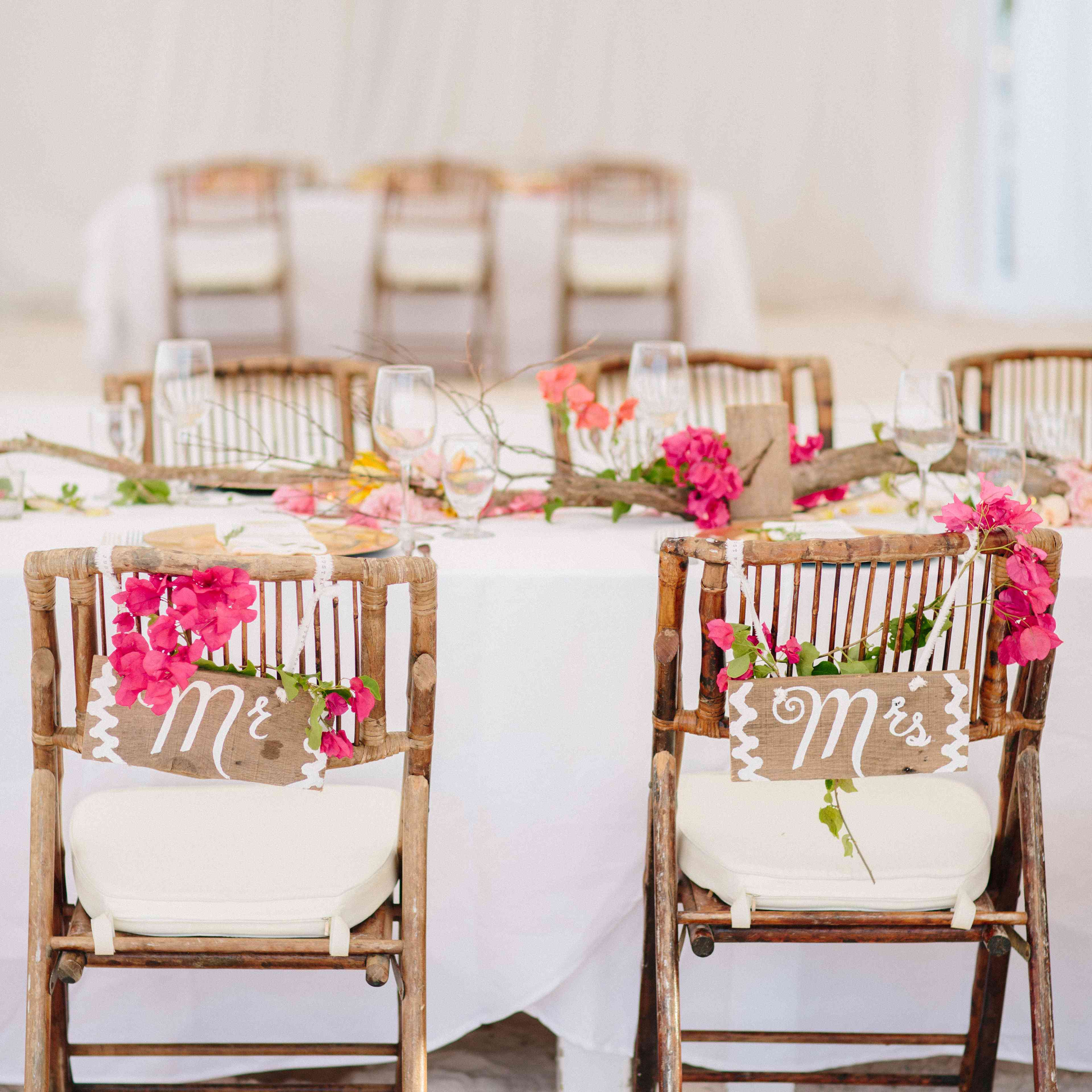 27 Impossibly Pretty Wedding Chair Decorations