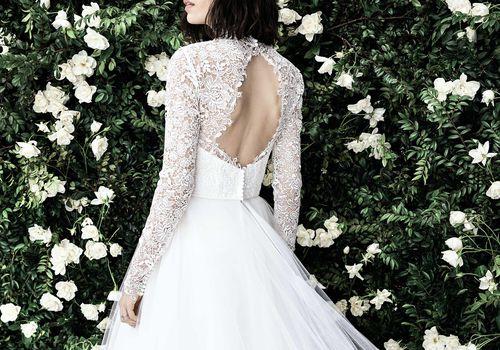 Carolina Herrera Bridal Spring 2020,Badgley Mischka Wedding Dress