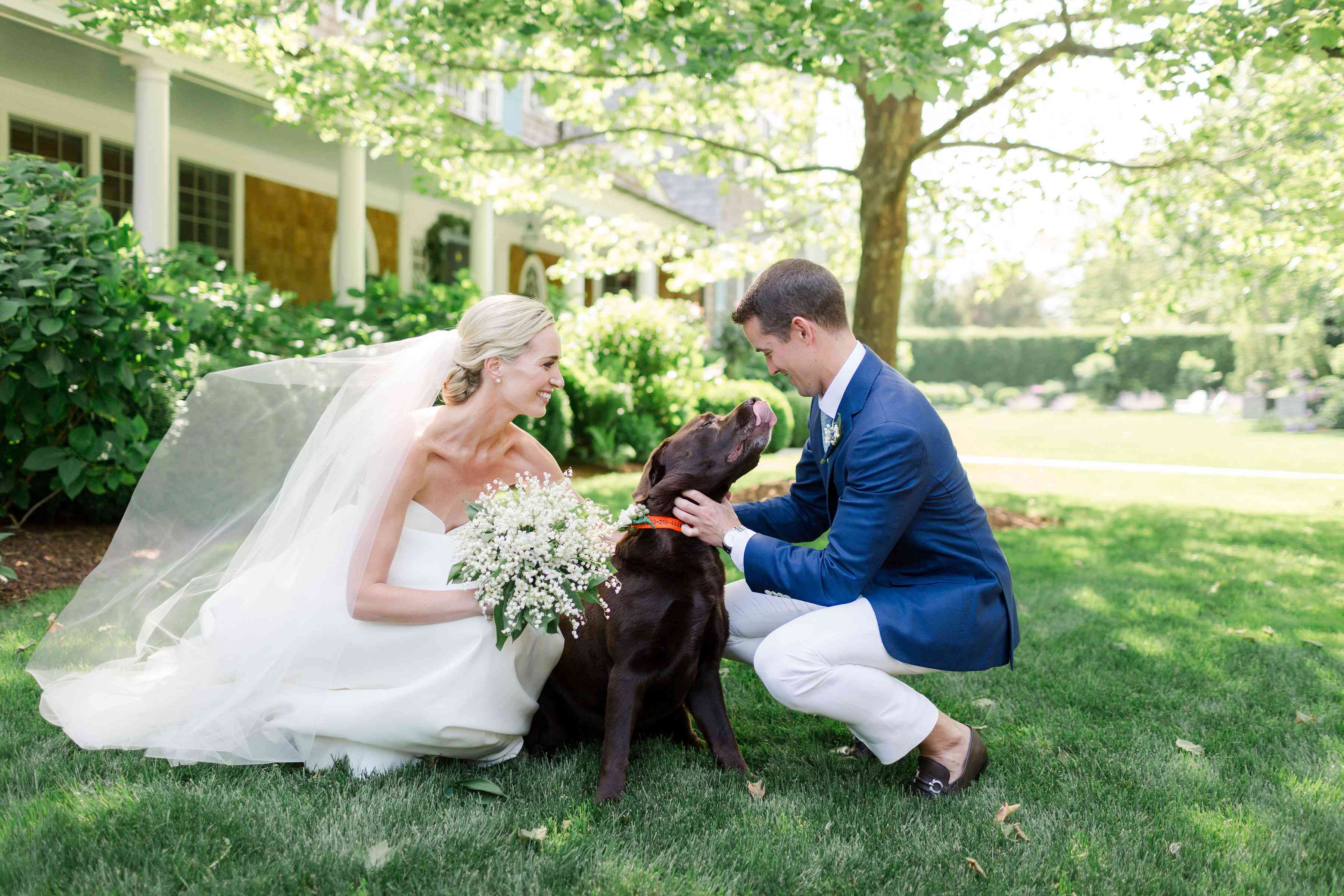 A Classic Summer Wedding in the Hamptons