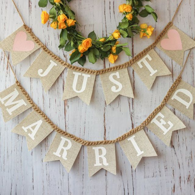 Etsy Just Married Banner