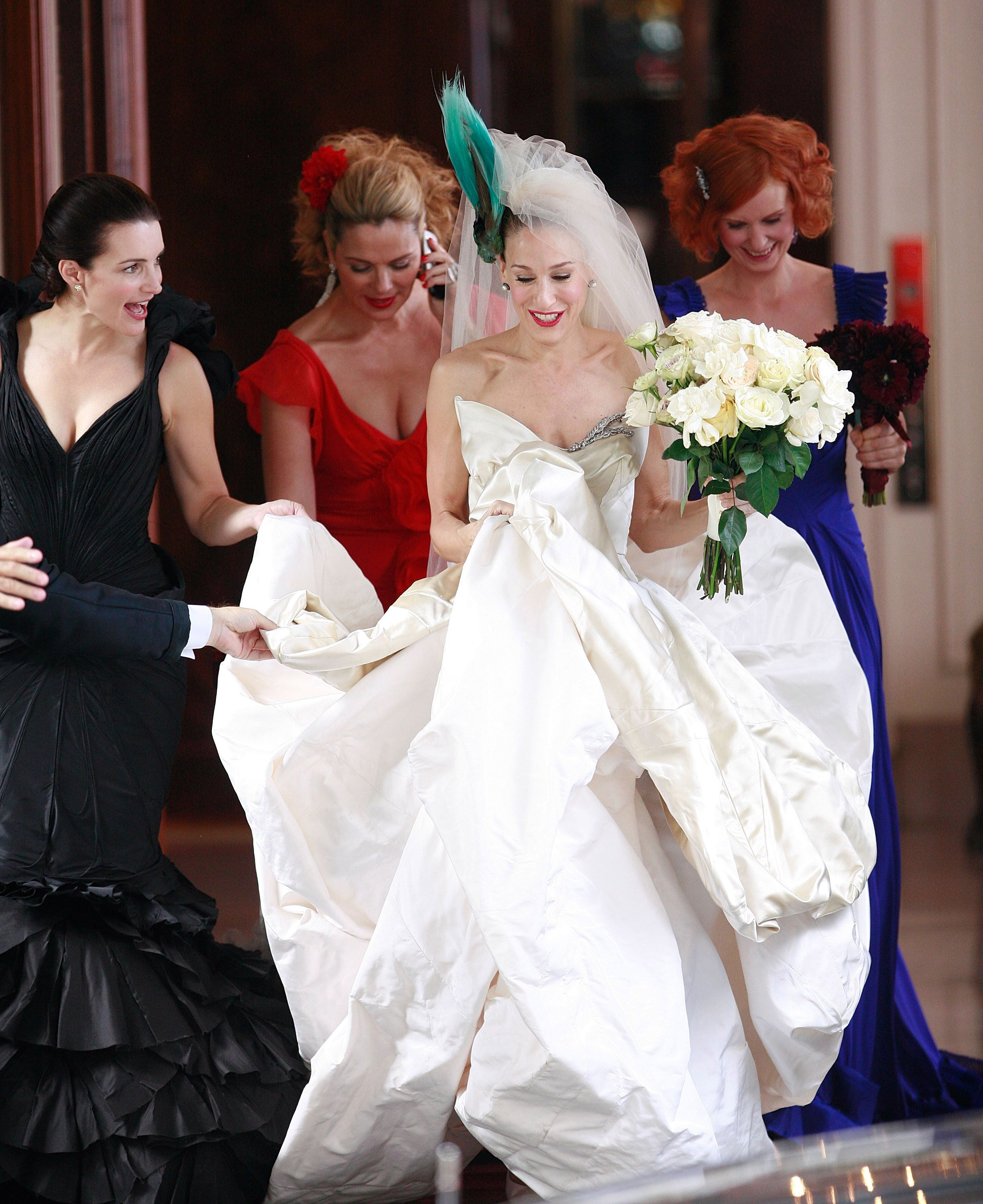 Tbt A Definitive Ranking Of All The Sex And The City Weddings