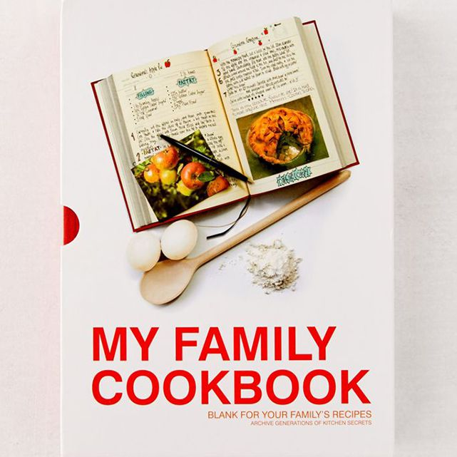 My Family Cookbook Journal