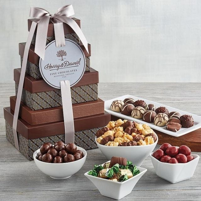 Harry and David Tower of Chocolates® Classic Gift