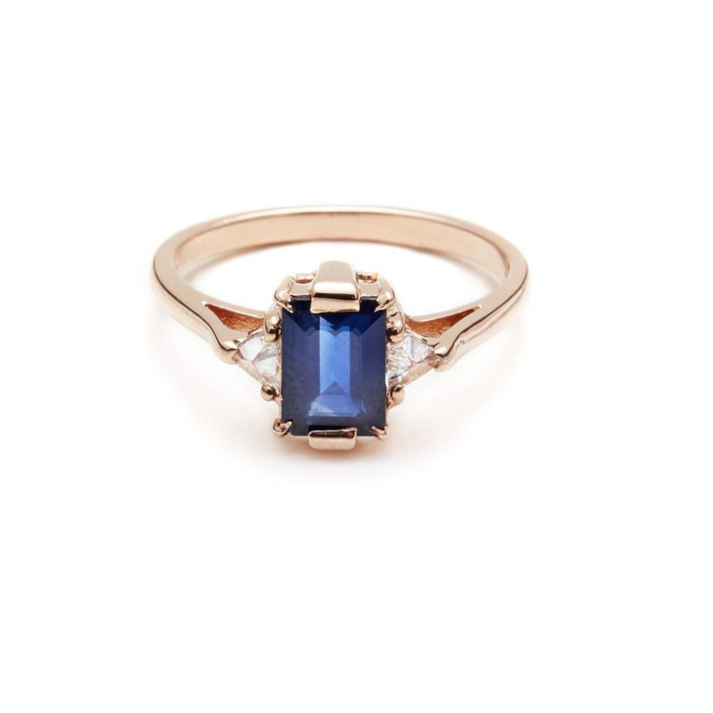 f27207ce86b57 78 Stunning Sapphire Engagement Rings for Every Bridal Taste