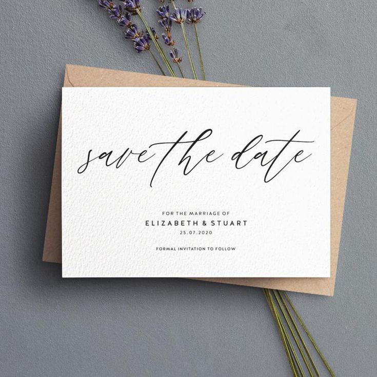 Save The Date Wording Etiquette And Examples