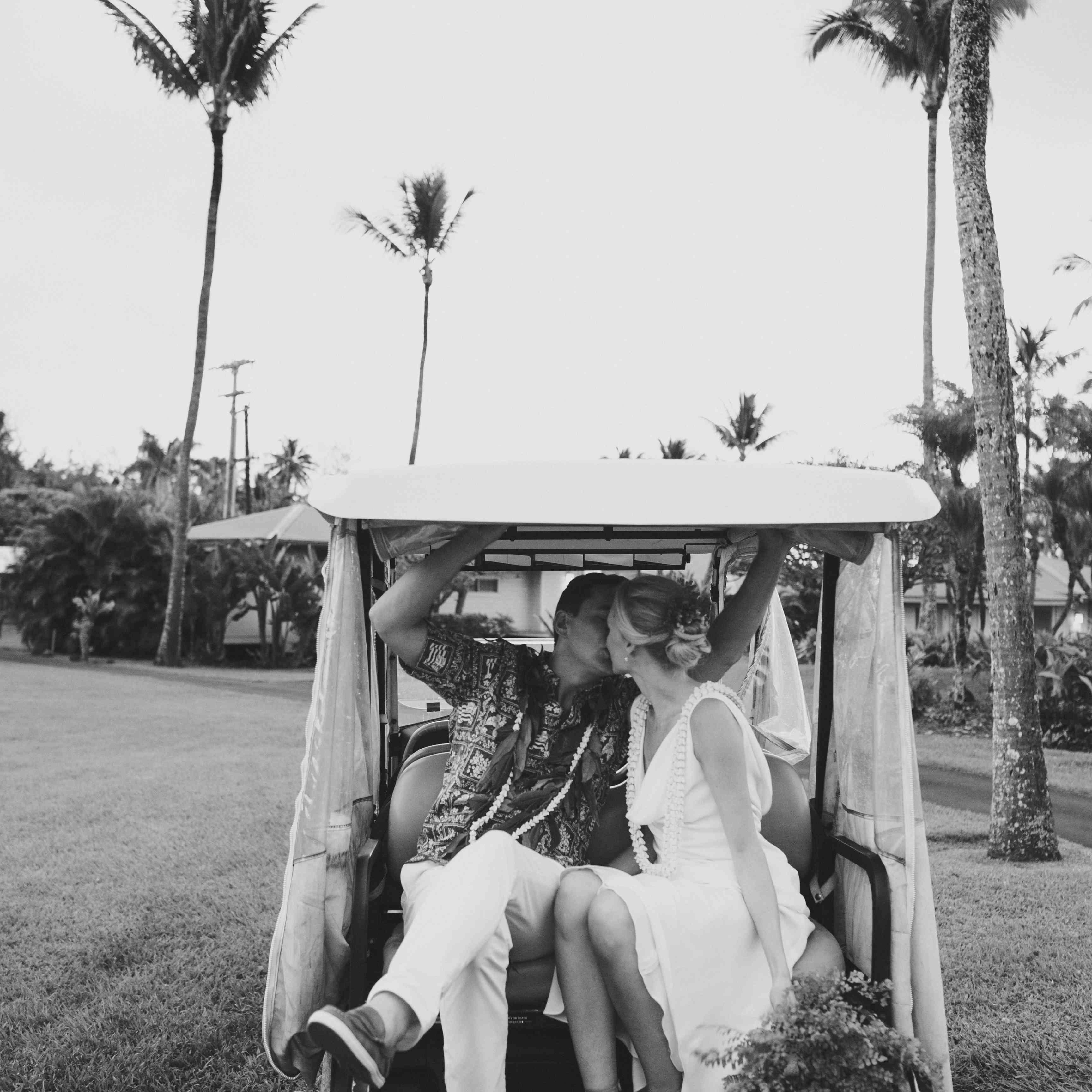 getaway car golf cart