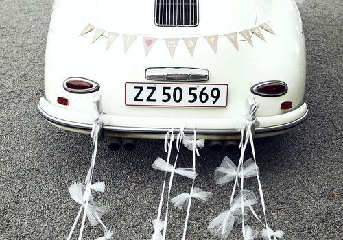 Decorated Getaway Car
