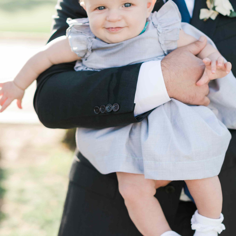 daughter child in wedding