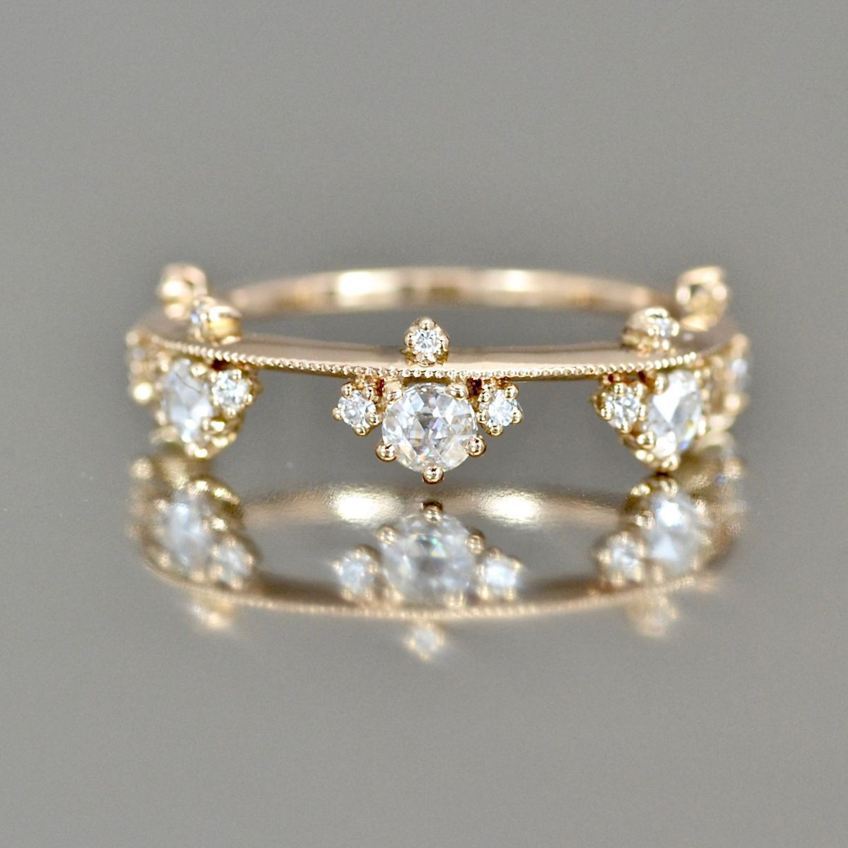 Kataoka Diamond Crown Ring-Supreme