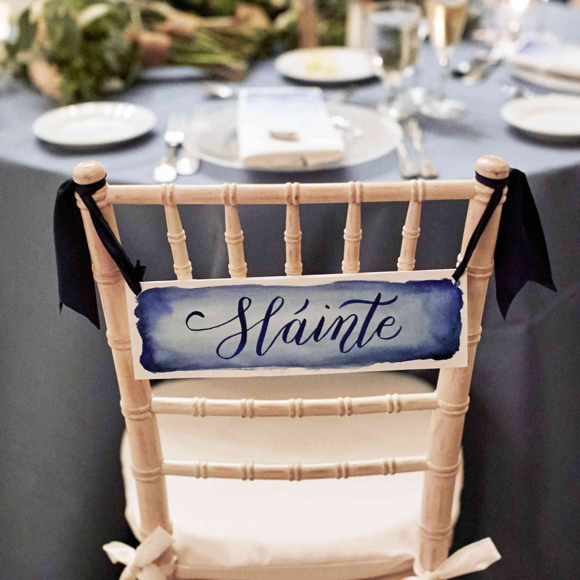 <p>Bride and Groom Chair Decorations</p><br><br>