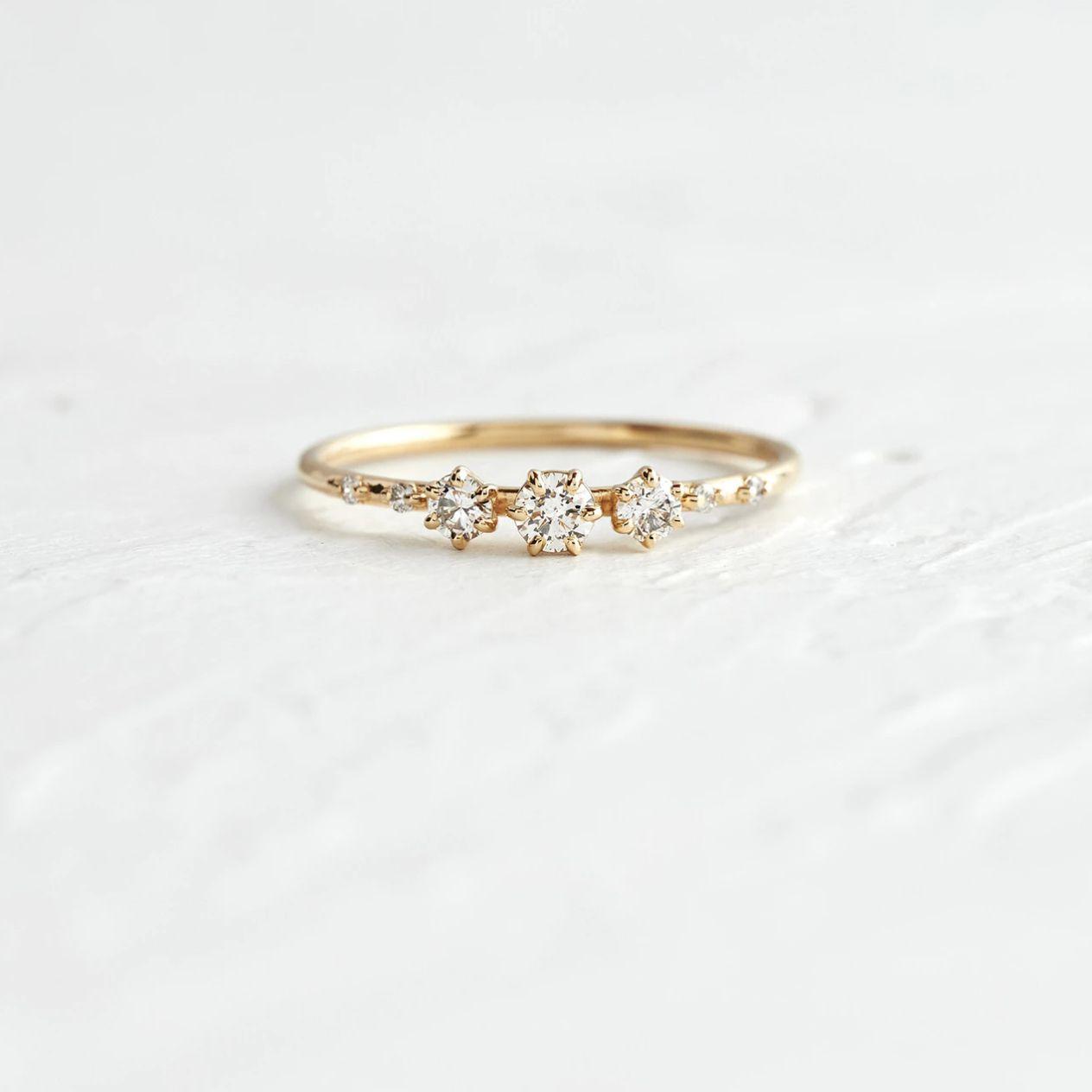 Melanie Casey Diamond Tempo Ring