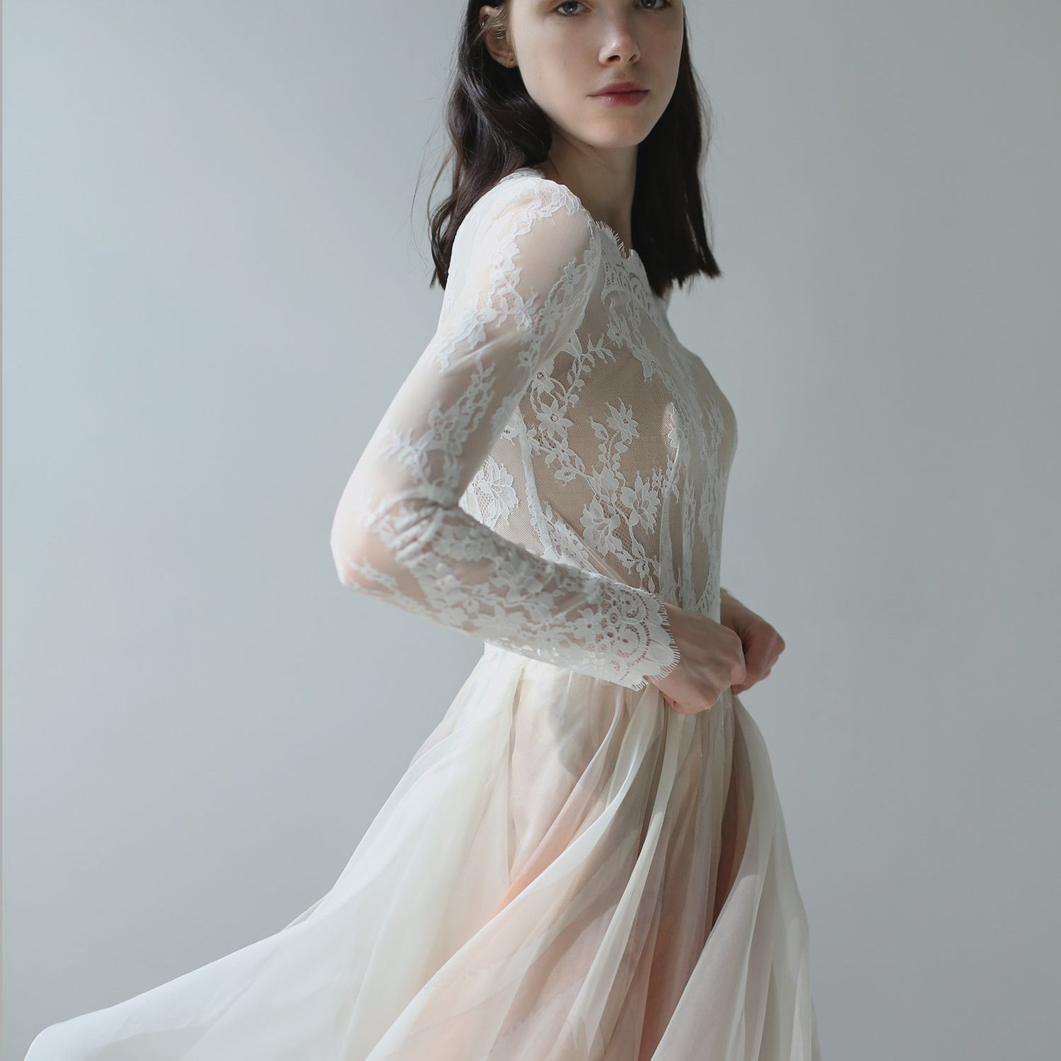 56afb12ff15a2 44 Pink Wedding Dresses For The Modern Romantic Bride