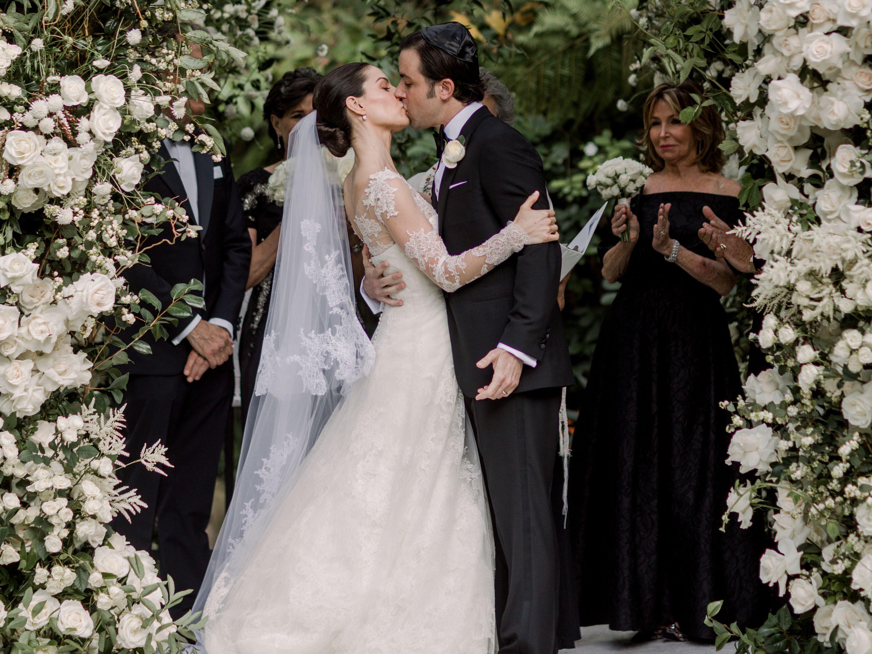 An Enchanting Garden Wedding At A Bel Air Hideaway