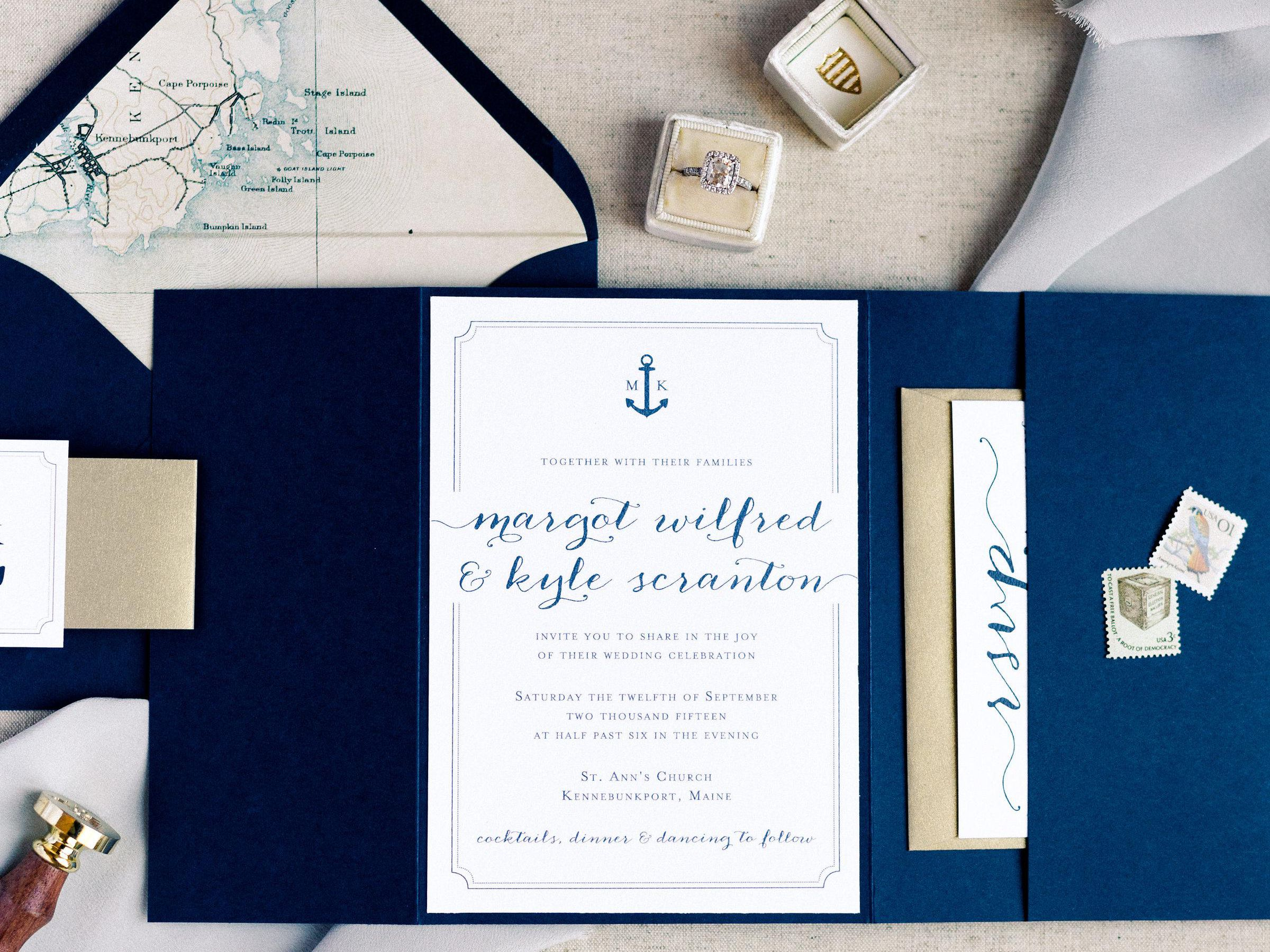 4 Nautical Wedding Invitations Perfect for Your Seaside Ceremony