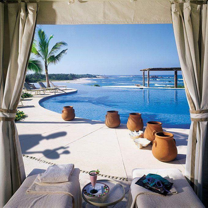 A view of the pool at Four Seasons Resort Punta Mita