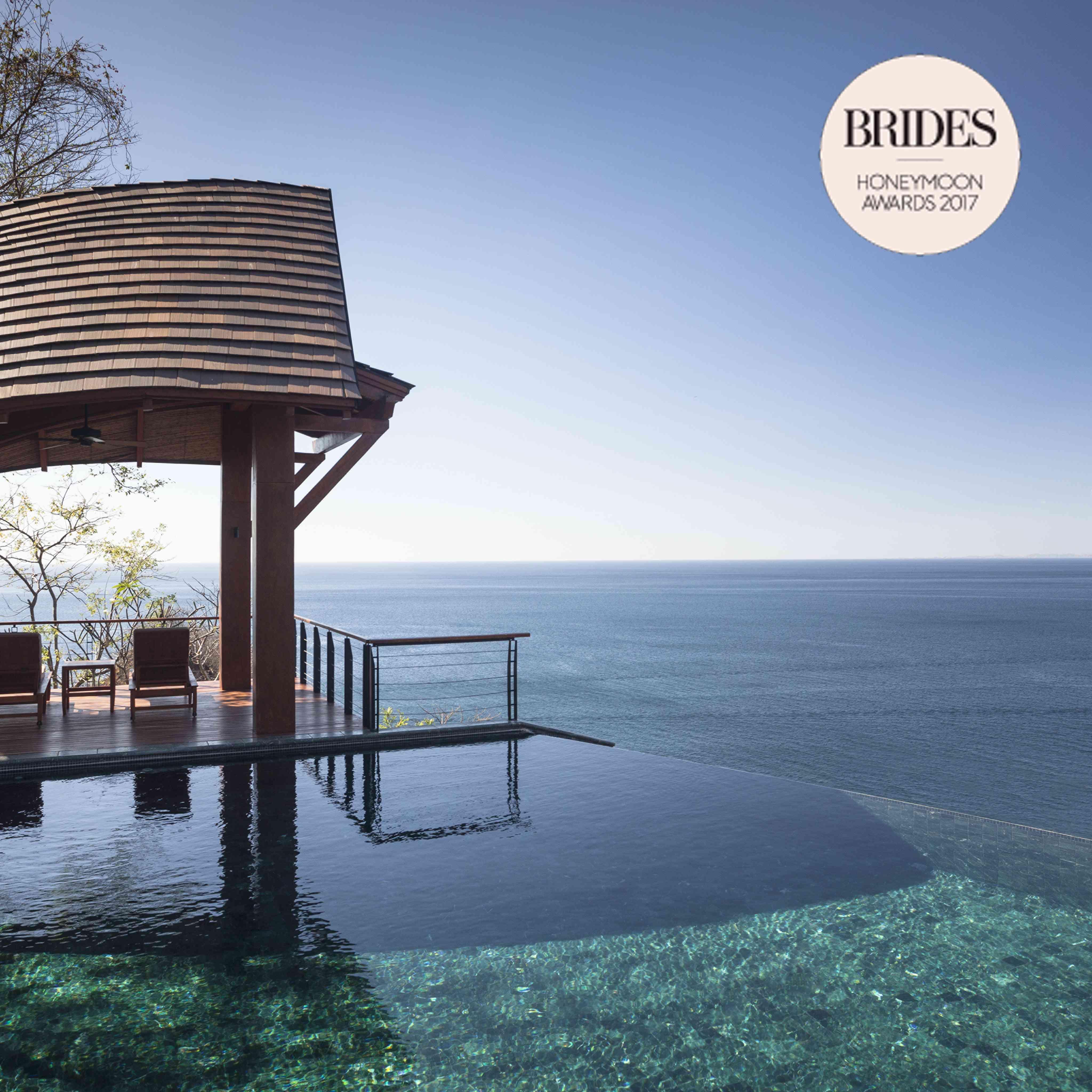 2017 Brides Honeymoon Awards: The Top 10 Resorts In
