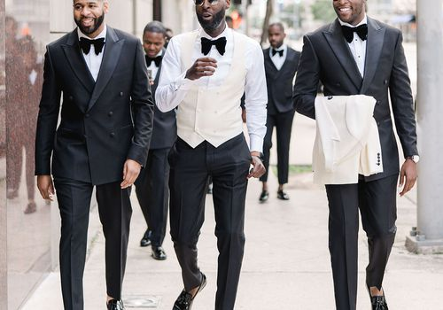 grooms outfit change