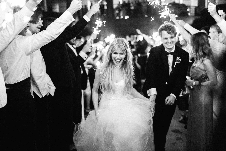 <p>Bride and Groom Exit Reception</p><br><br>