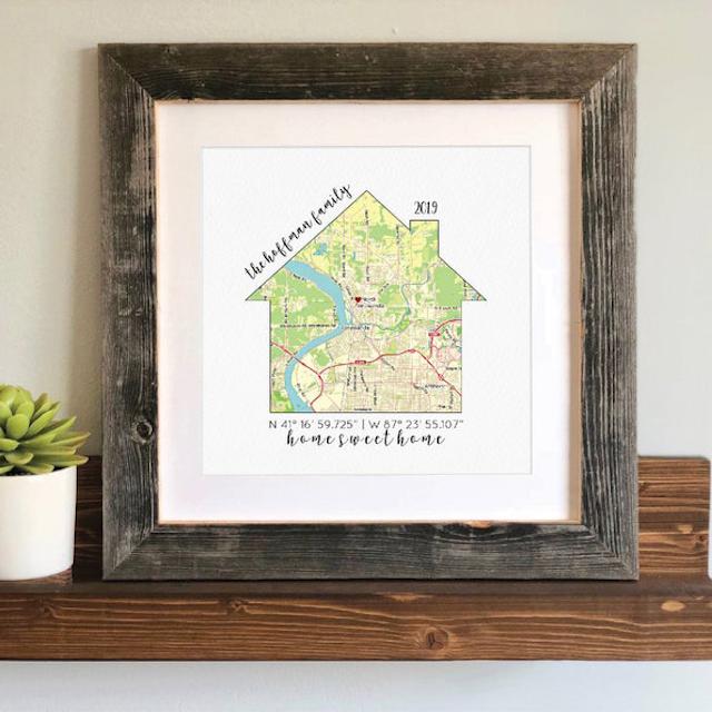 Home Coordinates Map