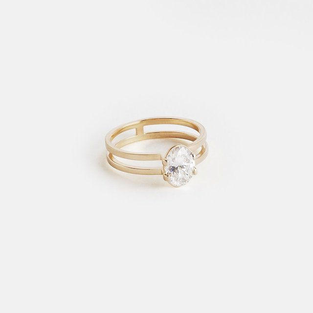 SHW Mes Ring in Gold