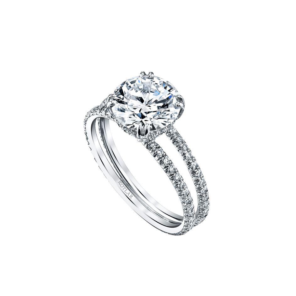 Harry Kotlar Arabesque Platinum Ring