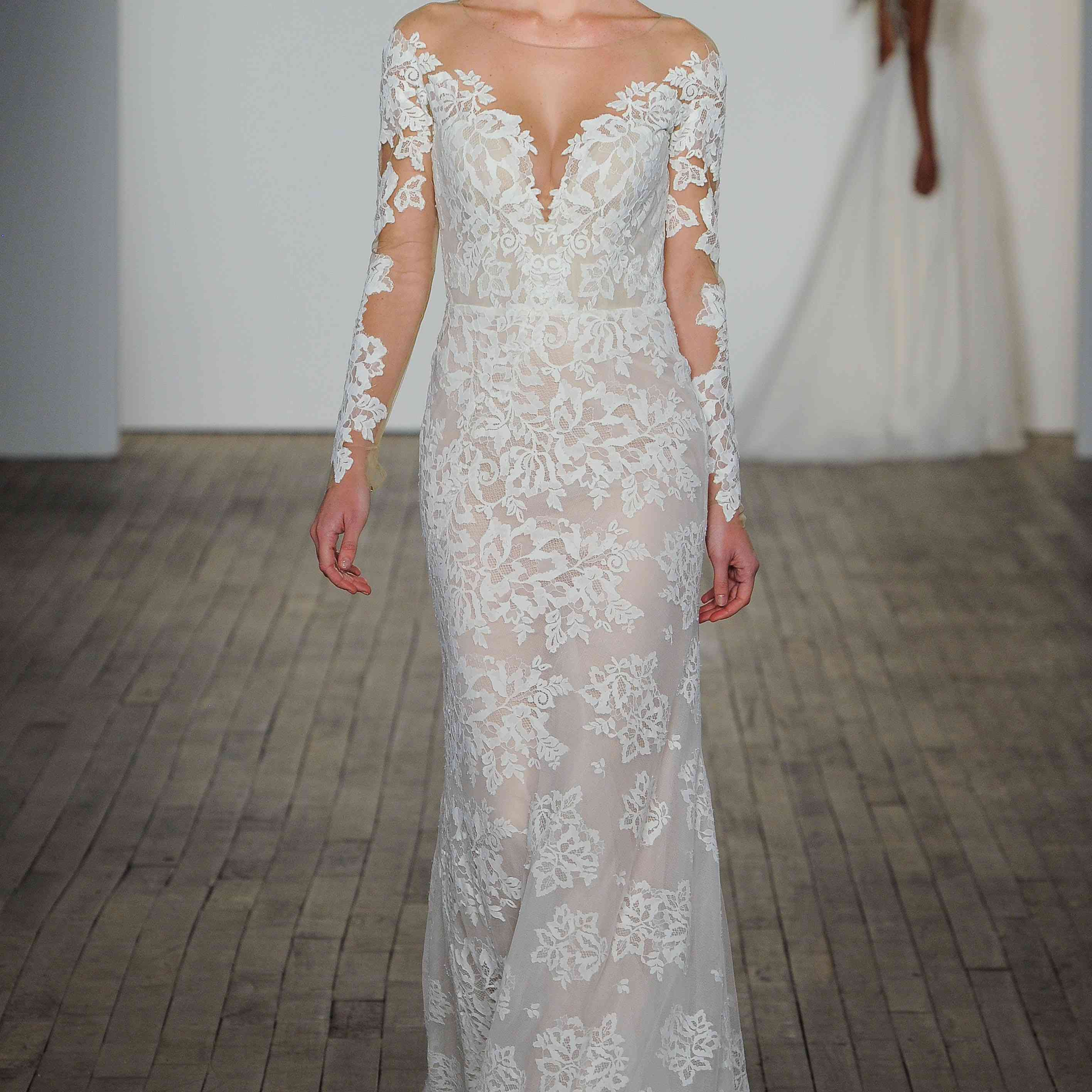 Jameson long sleeve wedding dress