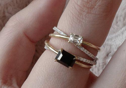 Onyx Rings