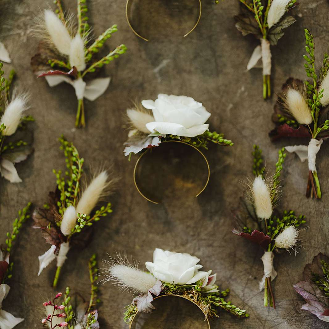 <p>corsages and boutonnieres</p><br><br>