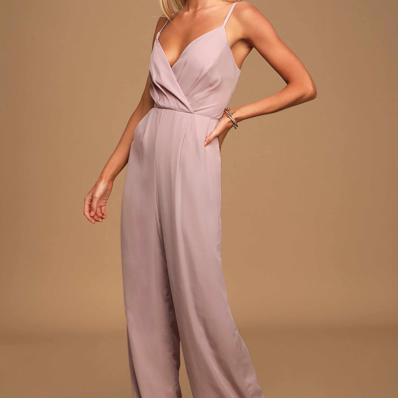 lavender jumpsuit