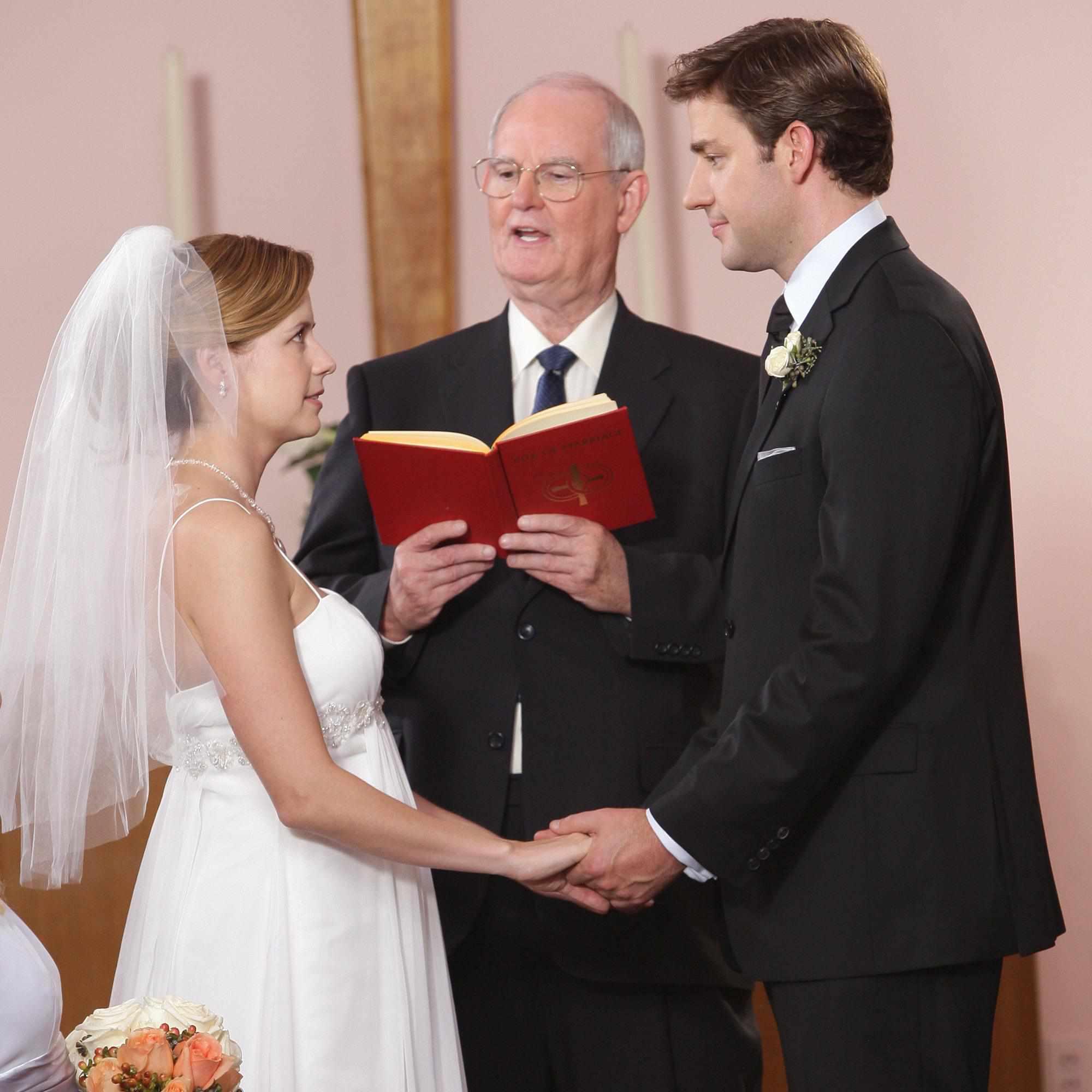 pam and jim's wedding