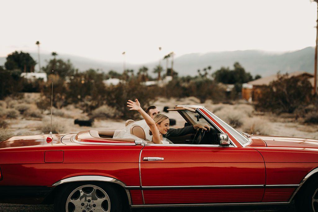 Newlywed getaway