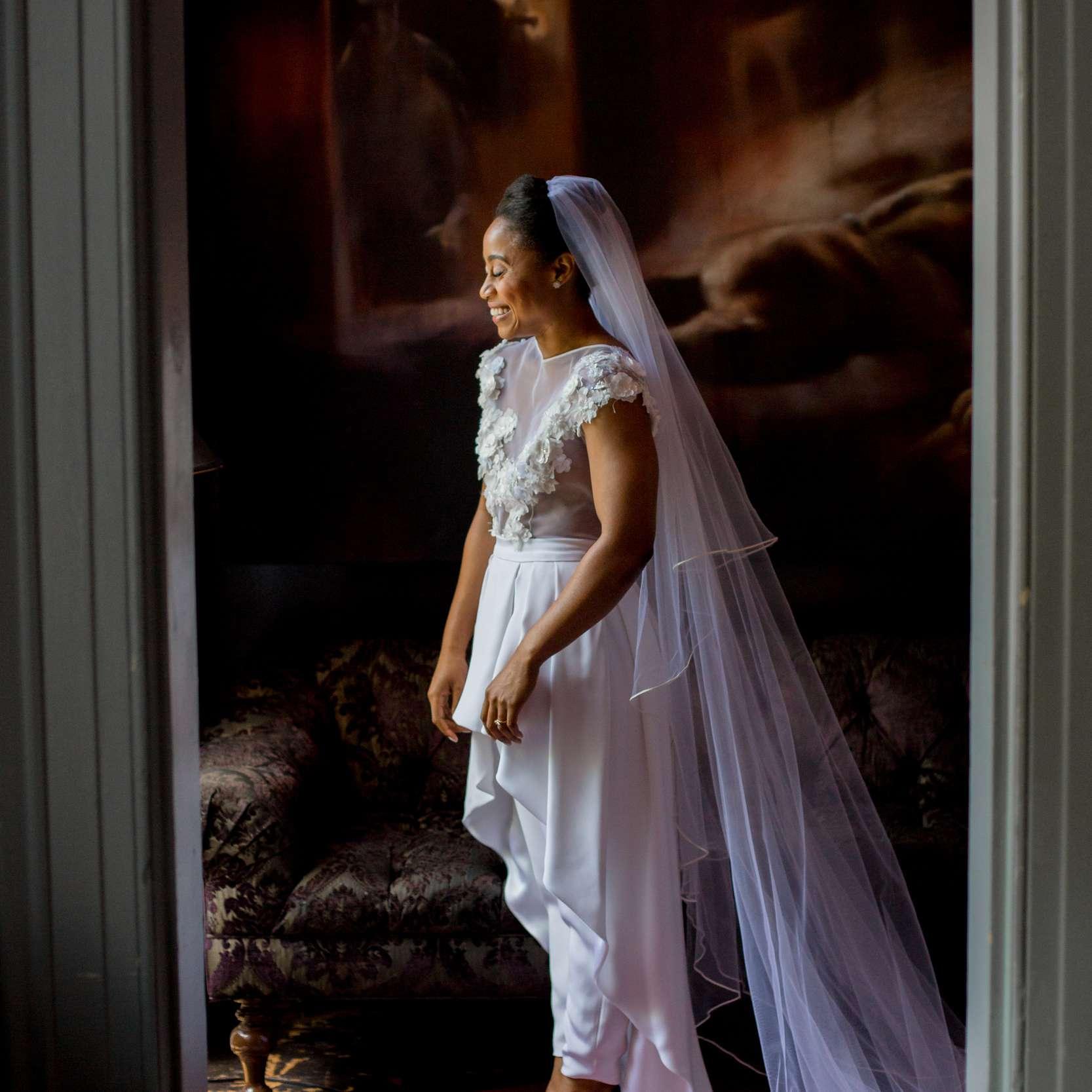 Bride in Jumpsuit