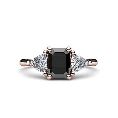 17 Black Diamond Engagement Rings