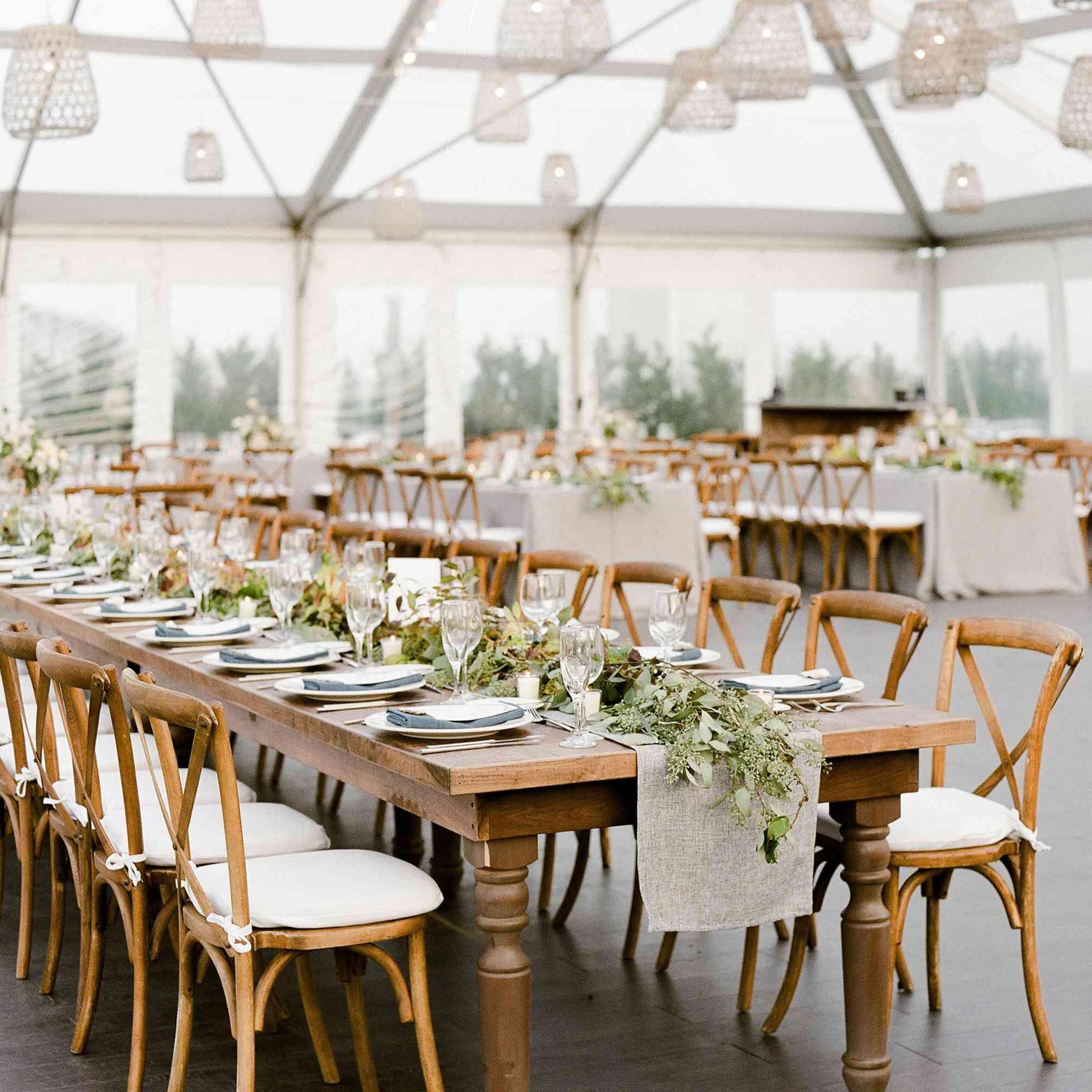 <p>basket lanterns wood reception tables</p><br><br>