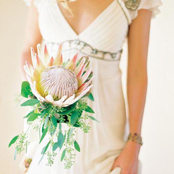 <p>King Protea Single Stem Bouquet</p>