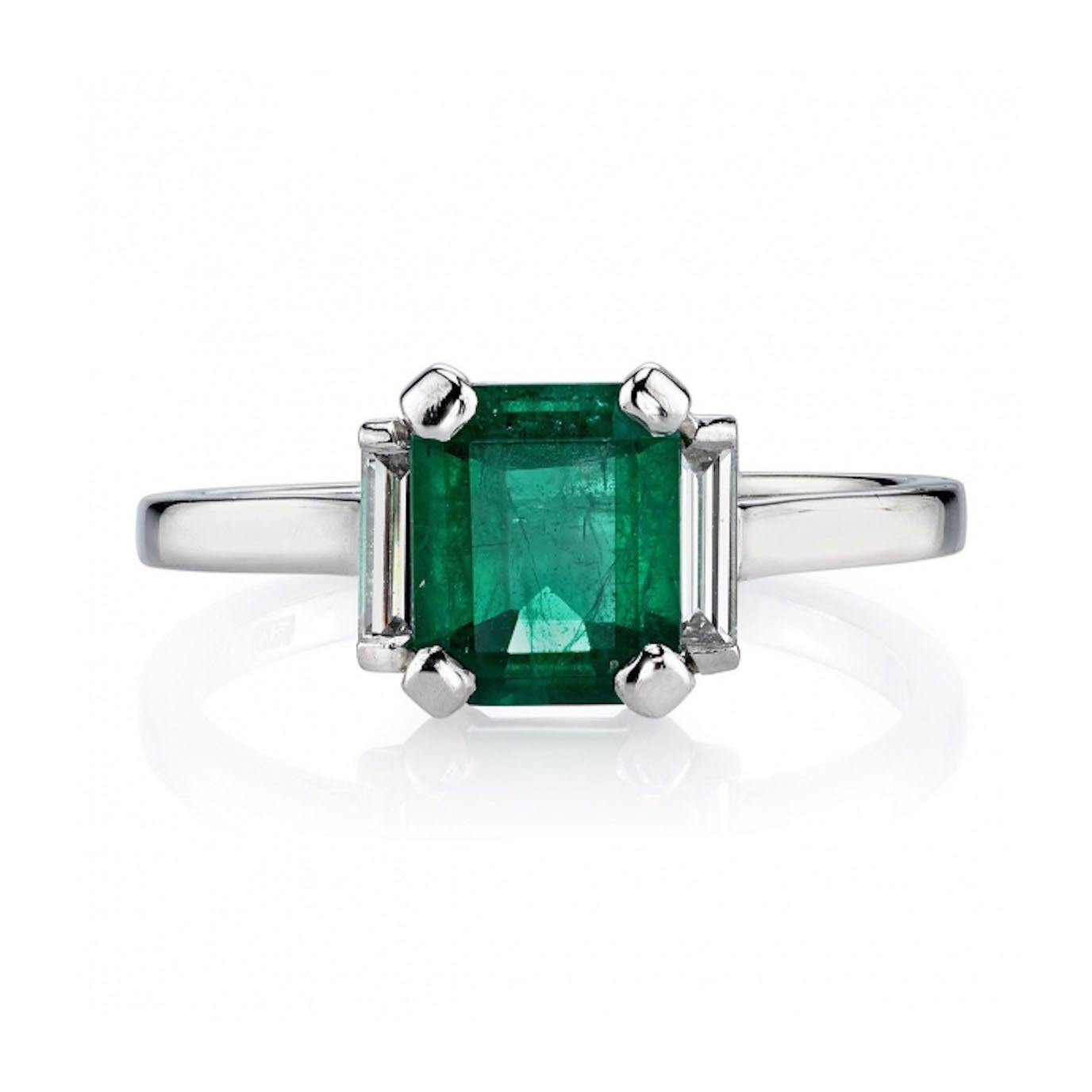 6cd4b63334cd5 37 Elegant Emerald Engagement Rings