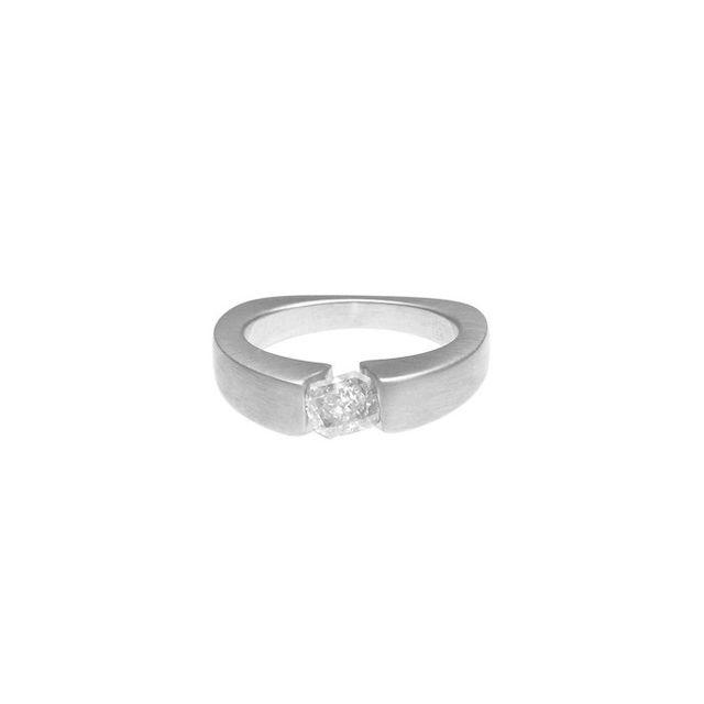 Otem Offset Diamond Ring (Setting)