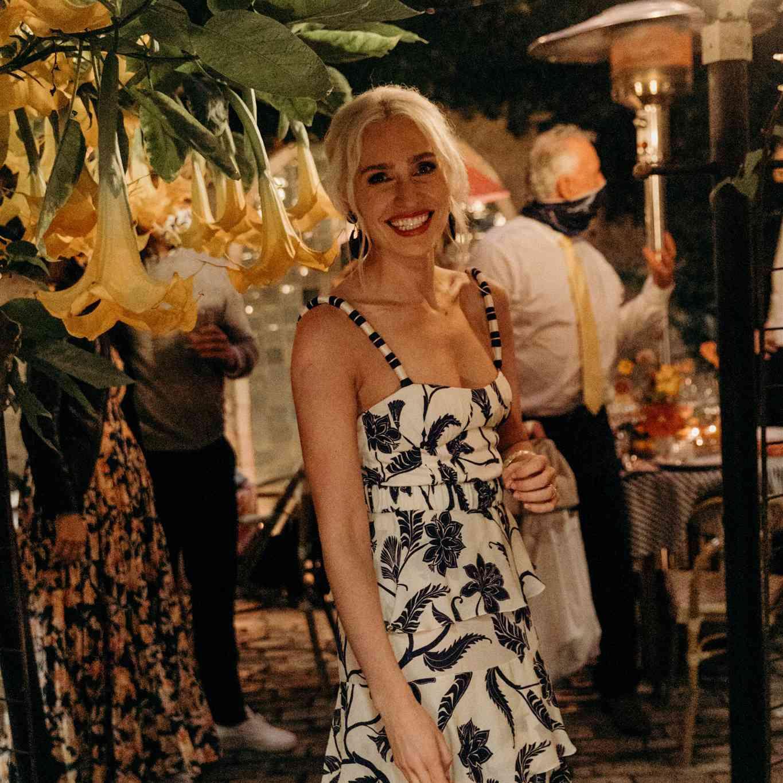 Bridal reception attire