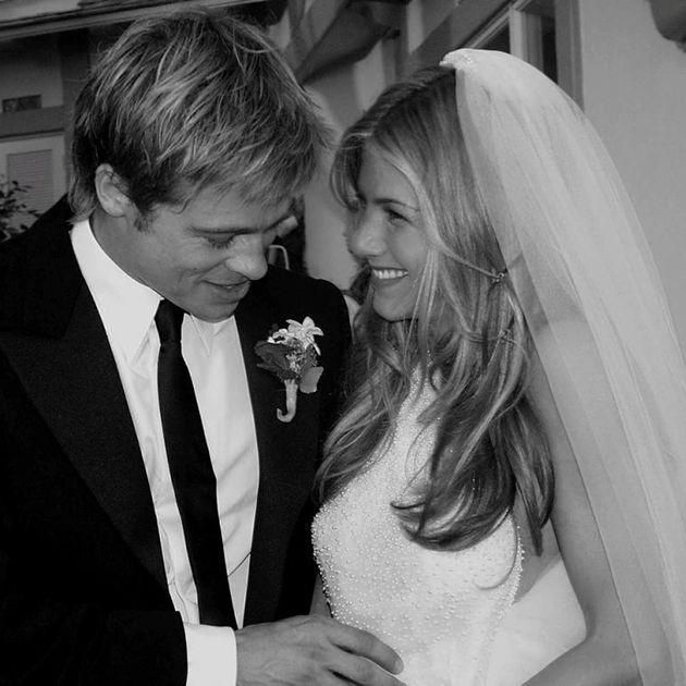 Looking Back at Jennifer Aniston's Wedding Photos