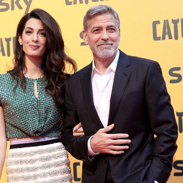 Amal and George Clooney Looked Like Actual Wedding Cake