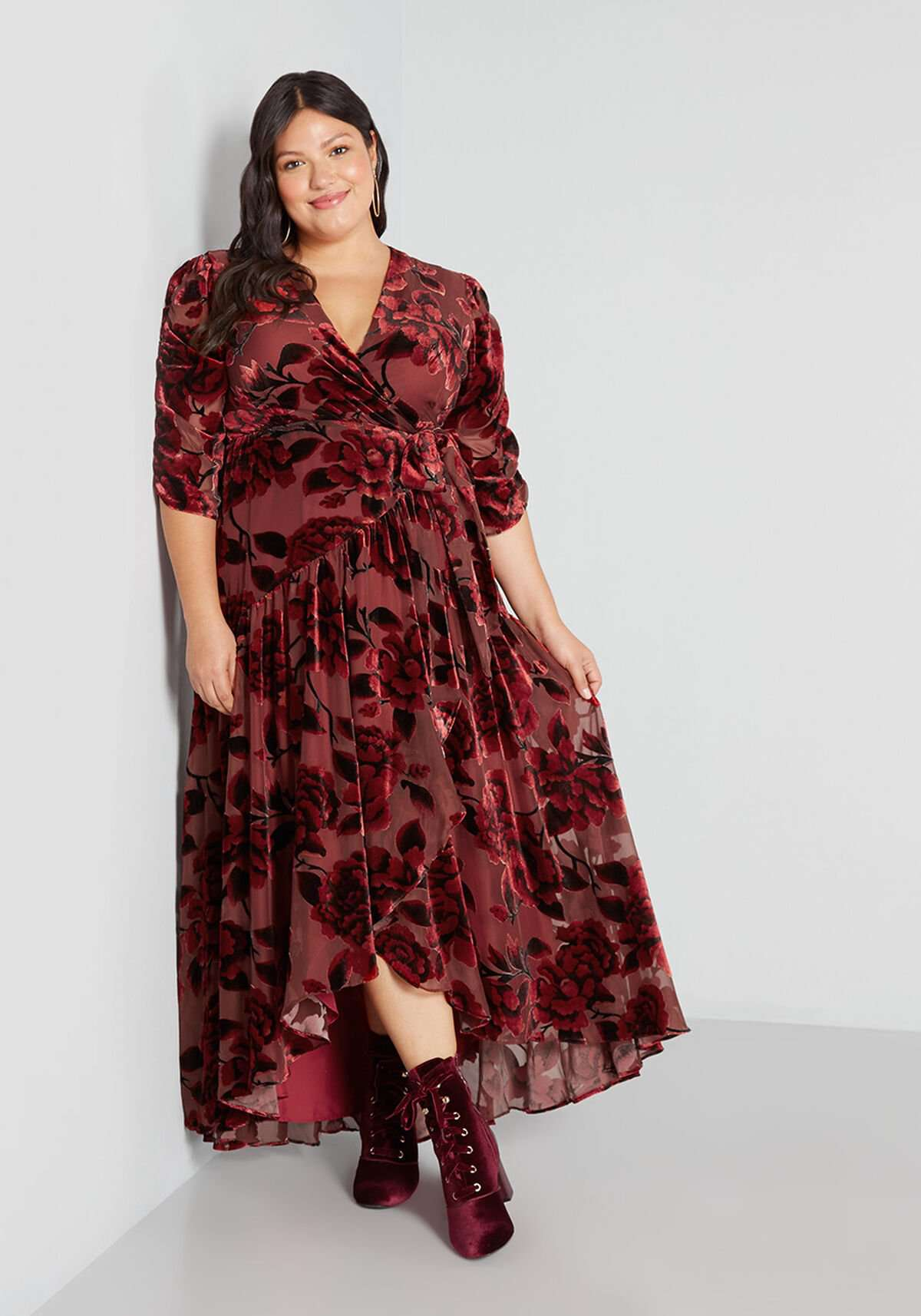 Hutch Tickets For Two Velvet Maxi Dress, $199