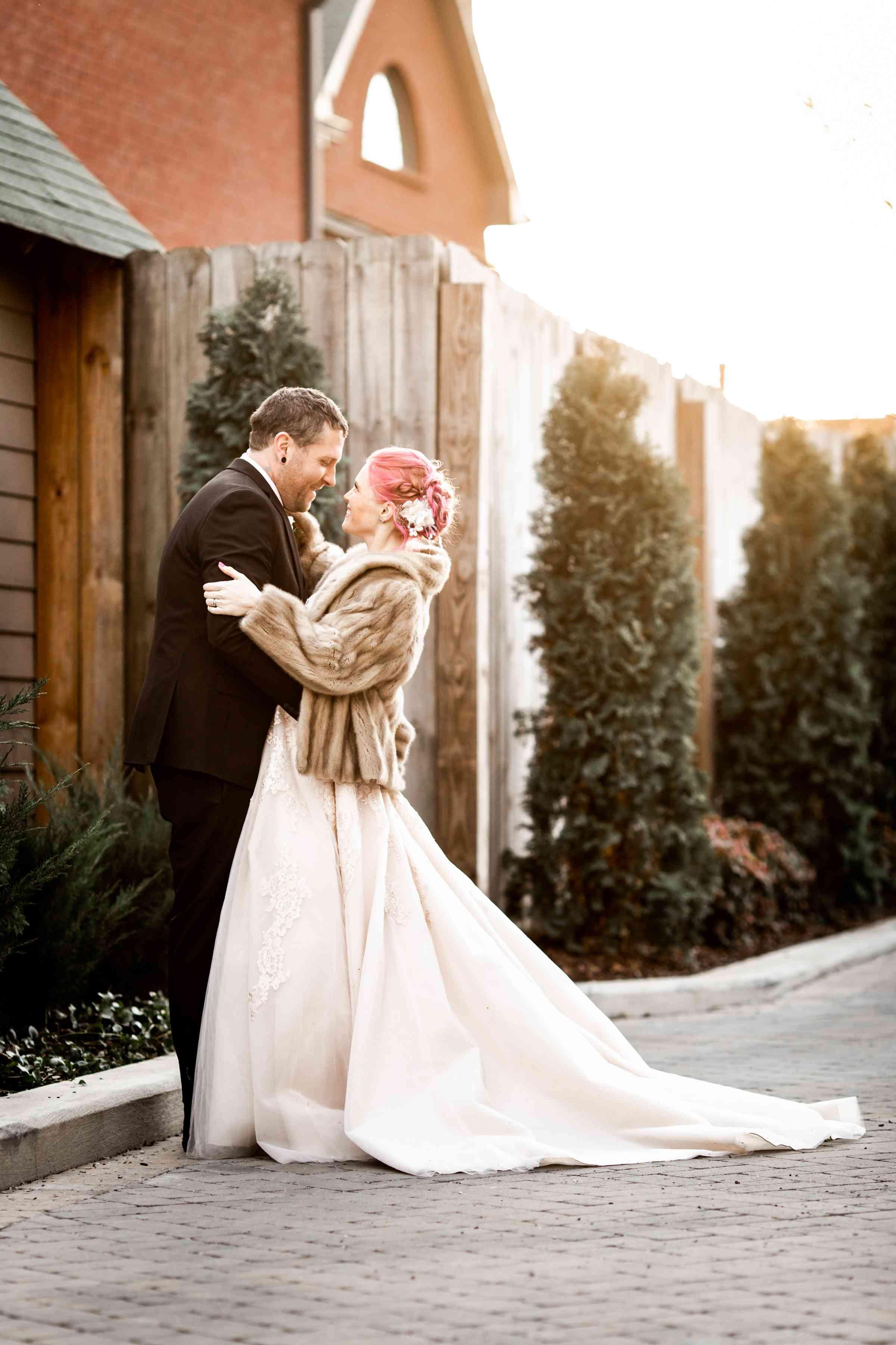 wish upon a wedding couple