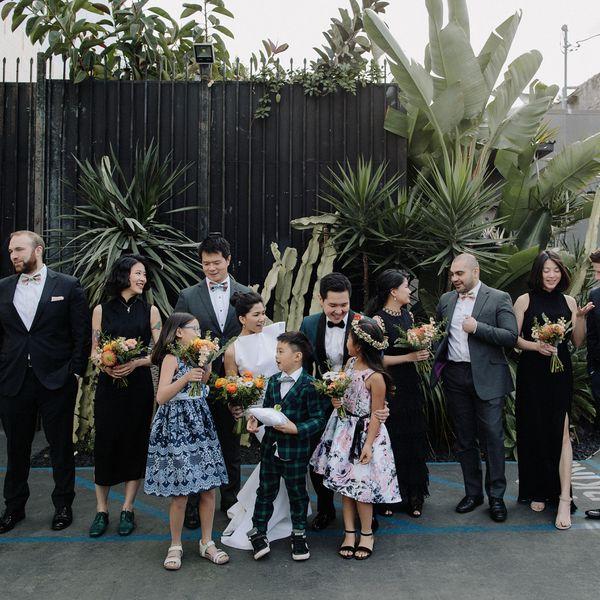 <p>Wedding party</p>