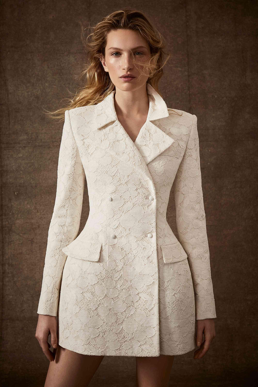 Lace bridal blazer