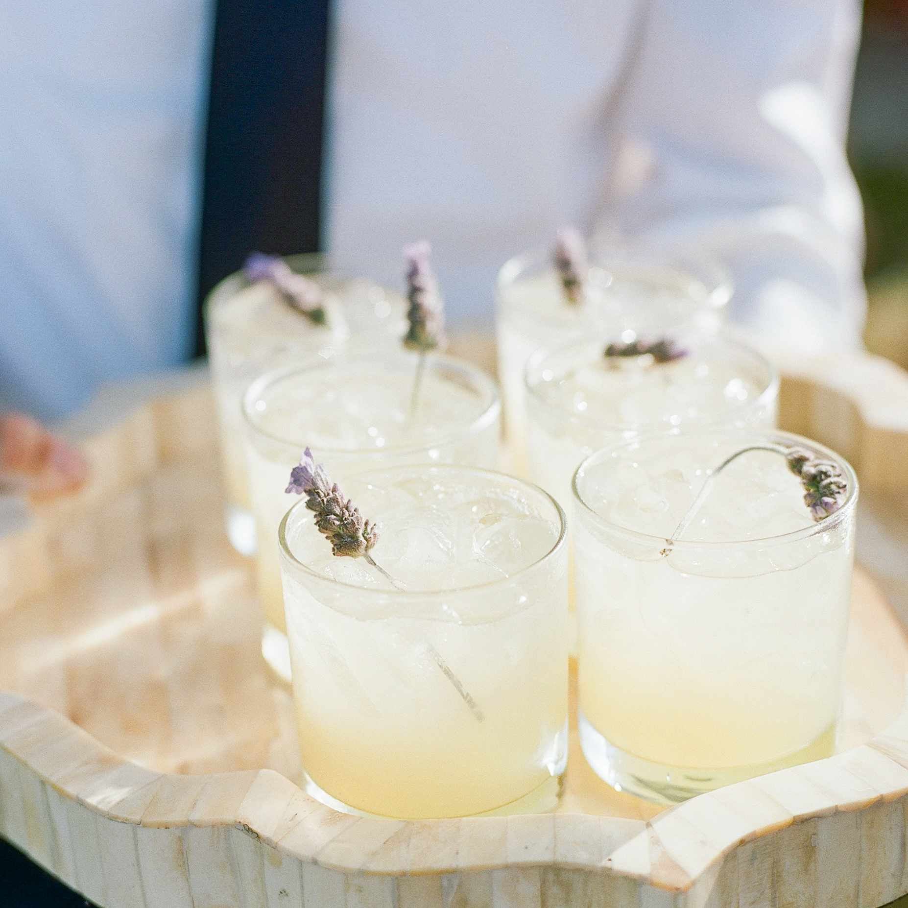 Cocktails With Lavender
