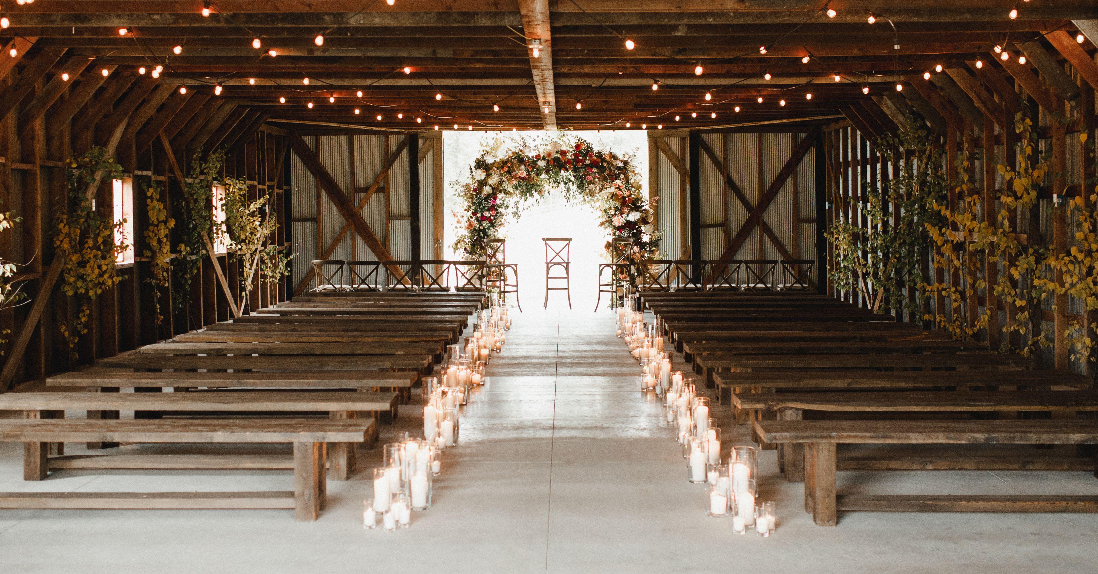 50 Beautiful Ways To Decorate Your Wedding Aisle