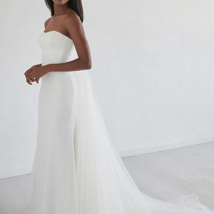 strapless dress