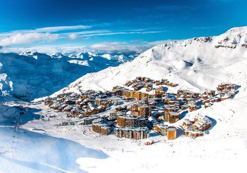Honeymoon ski resort