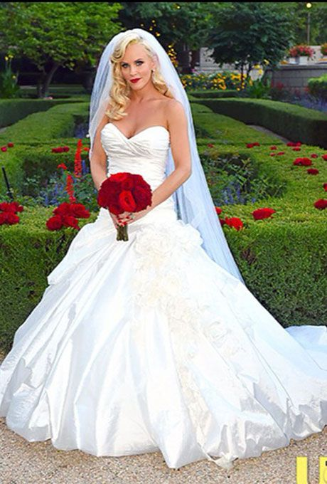 Jenny McCarthy marries Donnie Wahlberg in Ines Di Santo, 2014