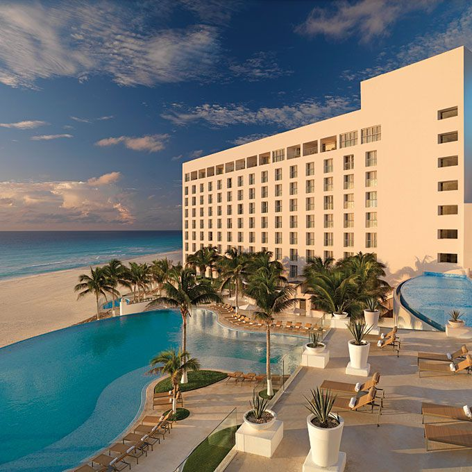 A view of Le Blanc Resort in Cancun